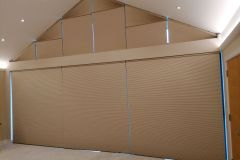 Window Blind Gable End Closed