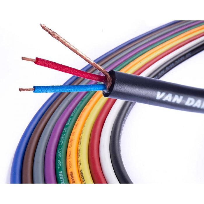 Van Damme Tour Grade Classic XKE Audio Cable 1 metre length