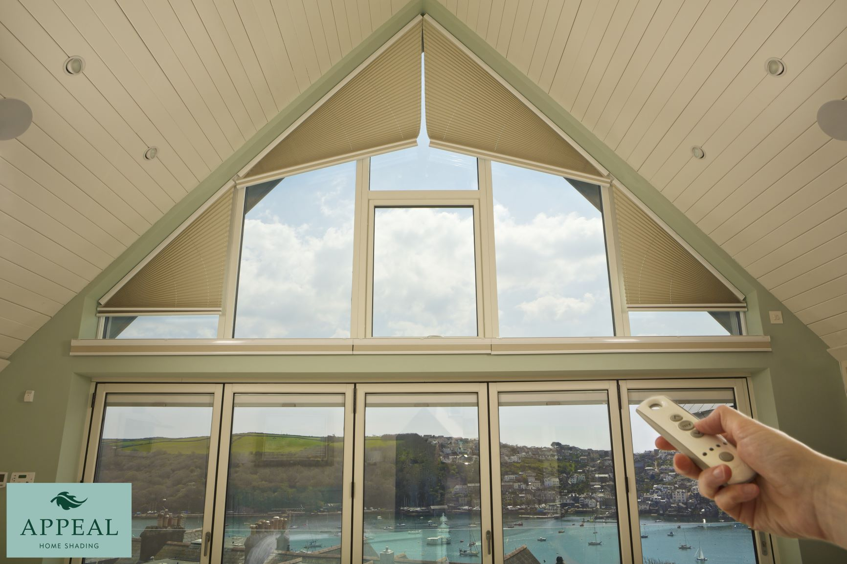 ClearView Gable End Blinds