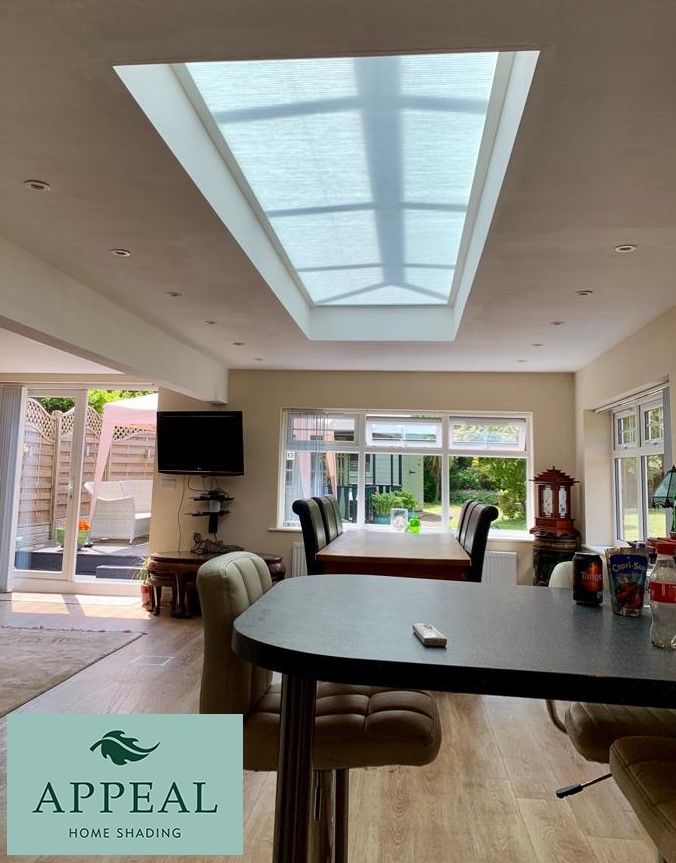 Clearview roof lantern Blinds